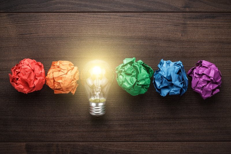 A bright idea can make all the difference to business success.